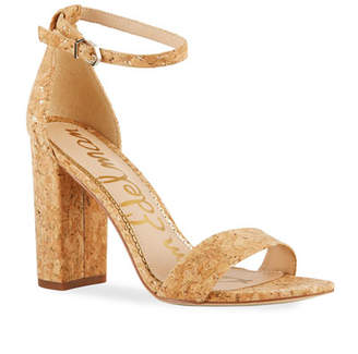 Sam Edelman Yaro High-Heel Cork Sandals