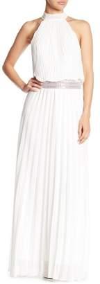 Meghan LA Pleated Maxi Dress