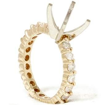 Pompeii3 1 1/2ct Diamond Eternity Mount Engagement Ring Setting