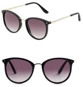 MANGO Round Sunglasses