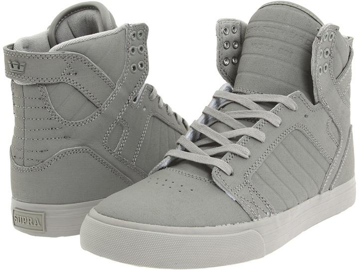 Supra Skytop (Grey Gunny Tuf) - Footwear
