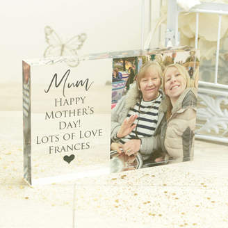 Dreams to Reality Design Ltd Personalised 6x4' Mothers Day Photo Acrylic Block
