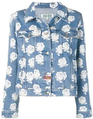 Kenzo Roses denim jacket