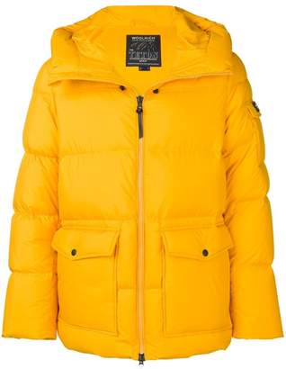 Woolrich zipped up padded jacket