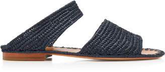 Carrie Forbes Ahmed Raffia Slides