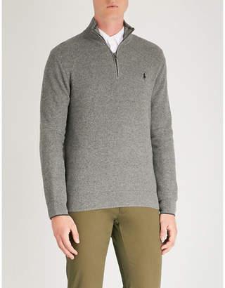 Polo Ralph Lauren Funnel neck cotton sweatshirt