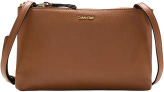 Calvin Klein H7GEA7GU Angelina Zip Top Crossbody Bag
