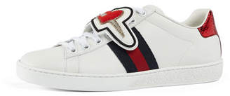 Gucci New Ace DaGGer 25 Lace Patch Sneaker