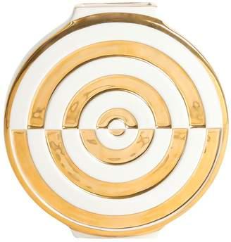 Jonathan Adler Futura Bullseye Porcelain Vase
