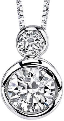 Sirena 1/5 CT. T.W. Diamond 14K White Gold Pendant Necklace