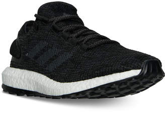 adidas Men's Pure Boost Running Sneakers from Finish Line $140 thestylecure.com