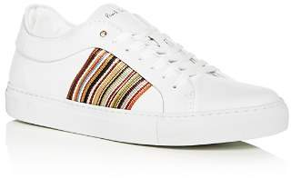 Paul Smith Men's Ivo Leather Lace-Up Sneakers