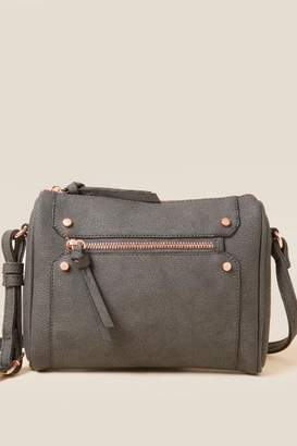 francesca's Emily Camera Bag - Dark Grey