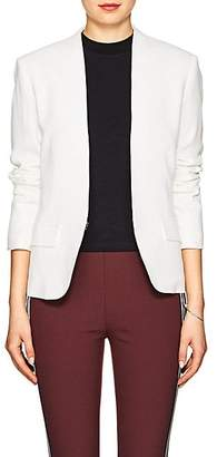 Rag & Bone Women's Victoria Crepe Collarless Blazer - White