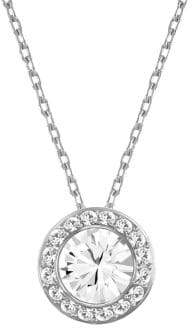 Swarovski Angelic Faceted Crystal Pendant Necklace