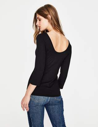 Boden Supersoft Ballet Back Tee