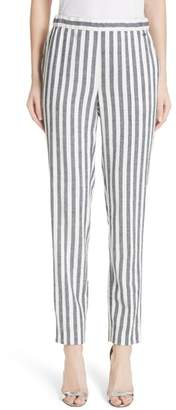St. John Stripe Twill Pants