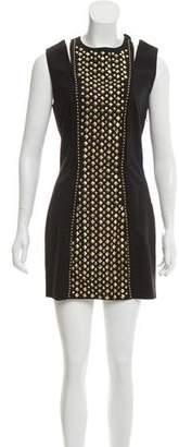 Pierre Balmain Studded Wool Dress