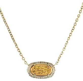 Kendra Scott Coated Druzy Elisa Lux Necklace