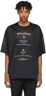 Midnight Studios Black Mesh Shes In Parties T-Shirt