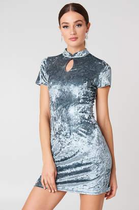Glamorous Velvet Mini Dress