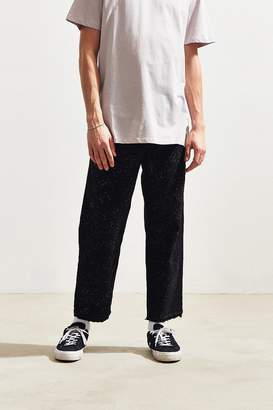BDG Acid Rain Wash Straight Cropped Jean