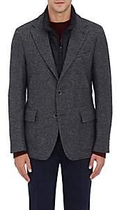 Fay Men's 3-In-1 Sportcoat-Light Gray
