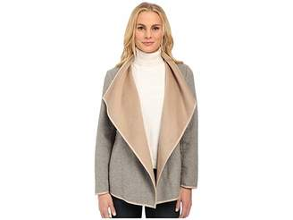 NYDJ Drape Front Coat Women's Coat