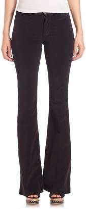 MiH Jeans Women's Marrakesh Velvet Flared Pants