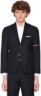 Tech Twill Wool Jacket W/ Stripes $2,500 thestylecure.com
