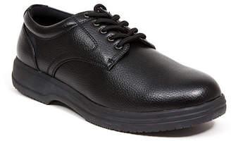 Deer Stags Men's Service Memory Foam Slip Resistant Oil Resistant Non Marking Sr Dress Comfort Oxford Men's Shoes