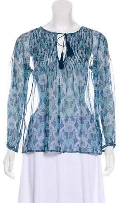 Joie Sheer Silk Blouse w/ Tags