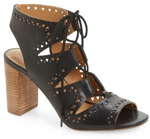 Women's Lucky Brand Tafia Lace-Up Sandal $118.95 thestylecure.com