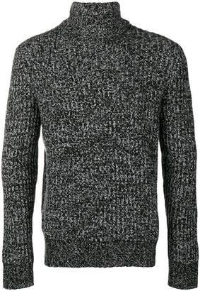 Theory patterned ribbed sweater