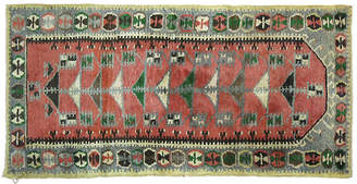 One Kings Lane Vintage Turkish Anatolian Rug - 5'1'' x 2'3'' - J & D Oriental Rugs