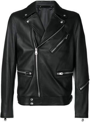 Paul Smith leather biker jacket