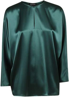 Gianluca Capannolo Slit-neck Blouse