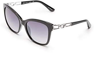 GUESS Women's Gu7536-s Cateye Sunglasses