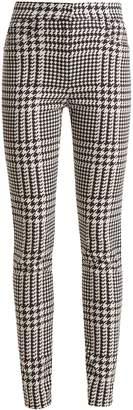 Balmain Hound's-tooth check skinny-leg trousers