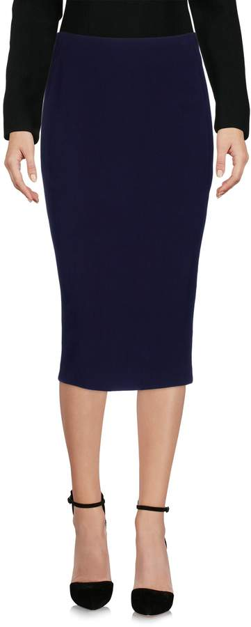 Donna Karan Knee length skirts - Item 35343471
