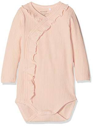 422c5d431 Name It Baby Girls' Nbftrunte Ls Wrap Body Noos Footies,(Size: 50