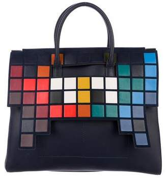 Anya Hindmarch Space Invaders Ephson Satchel