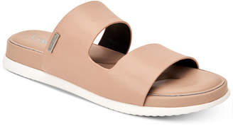 Calvin Klein Women's Diona Flat Sandals, Created for Macy's Women's Shoes