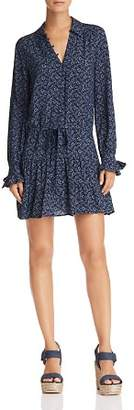 Paige Denisa Floral Drop-Waist Dress