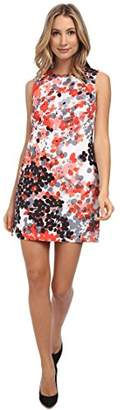 RED Valentino Women's Abstract Flower Print Dress