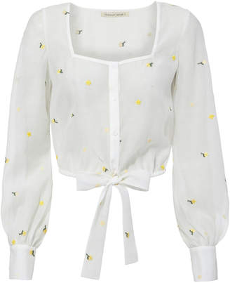 Of the Moment The East Order Emilia Floral Top