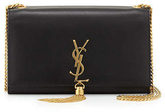 Saint Laurent Monogram Medium Chain-Strap Tassel Bag