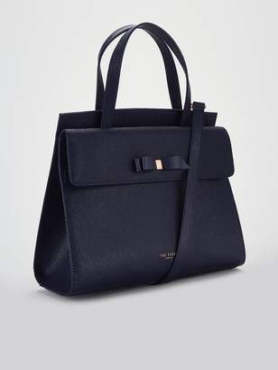 2525d3fab Ted Baker Aarilli Bow Detail Tote Bag - Navy