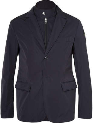 Moncler Ecaillon Slim-Fit Layered Shell Blazer