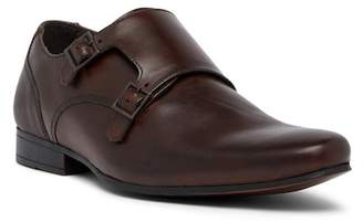Kenneth Cole Reaction Shape Double Monk Strap Loafer